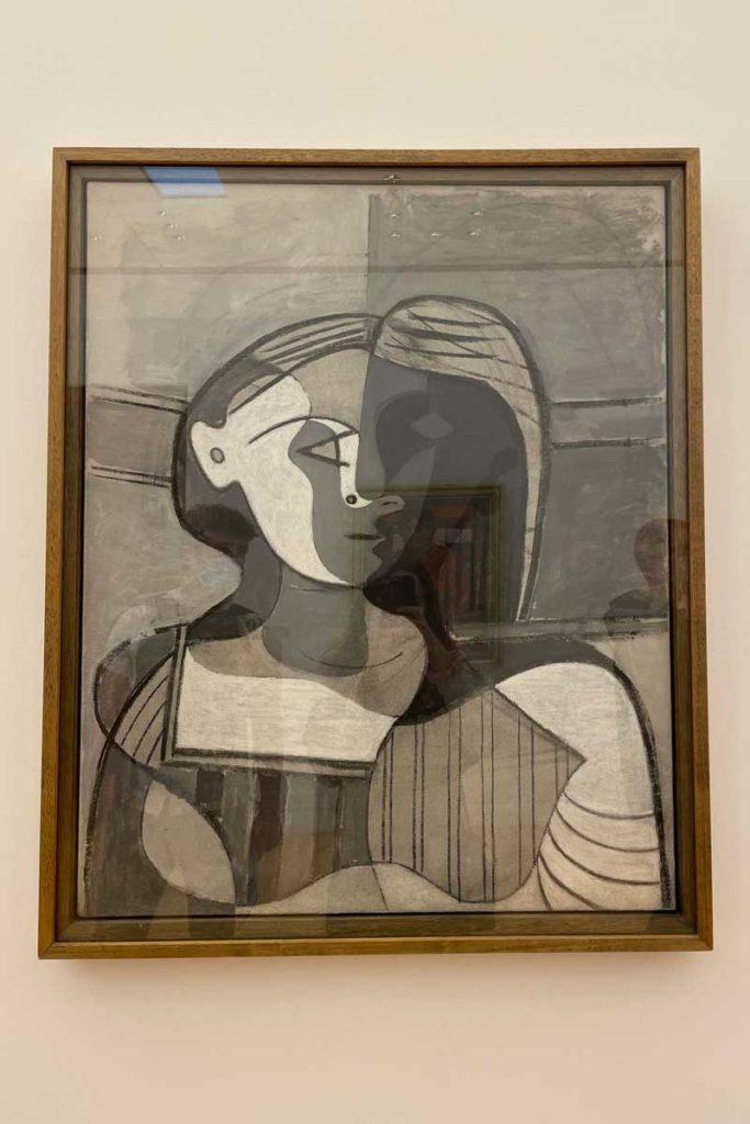 Buste de Femme, tableau de Picasso