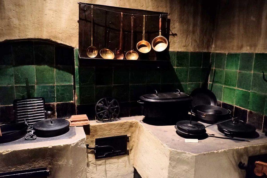 Cuisine dans le musée alsacien de Strasbourg