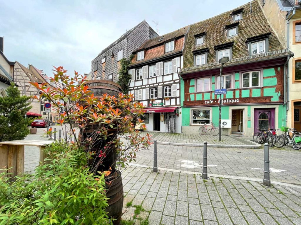 Boutique de café Omnino à la Krutenau